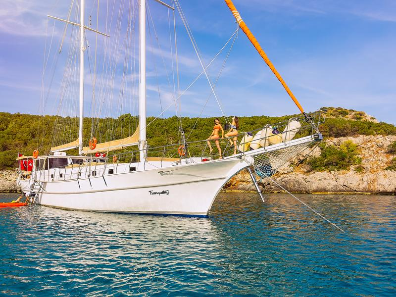 Crociera Gulet Cuise Bodrum Superior With Ac
