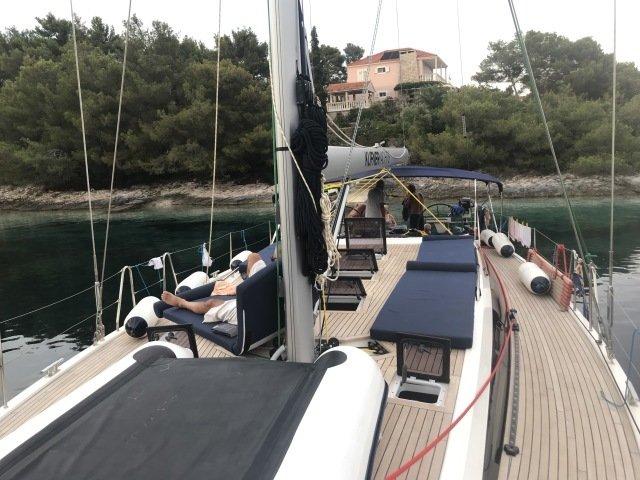 Crociera Aeolian In Sailing Yacht
