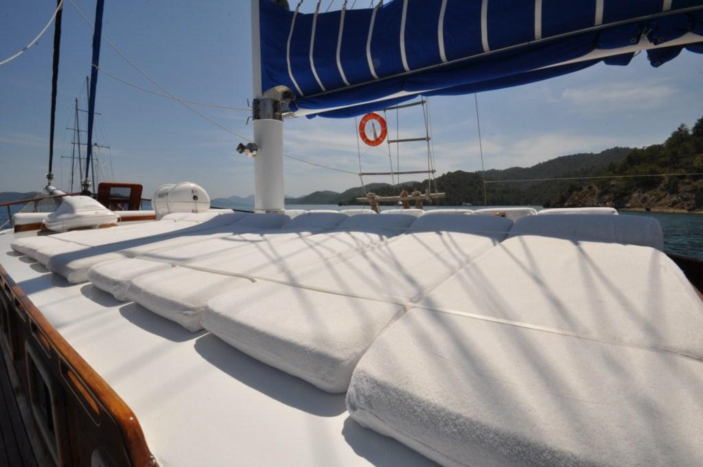 Caicco crociere in caicco sunworld ix vacanze e noleggio for Cabine di pesca nel ghiaccio alberta